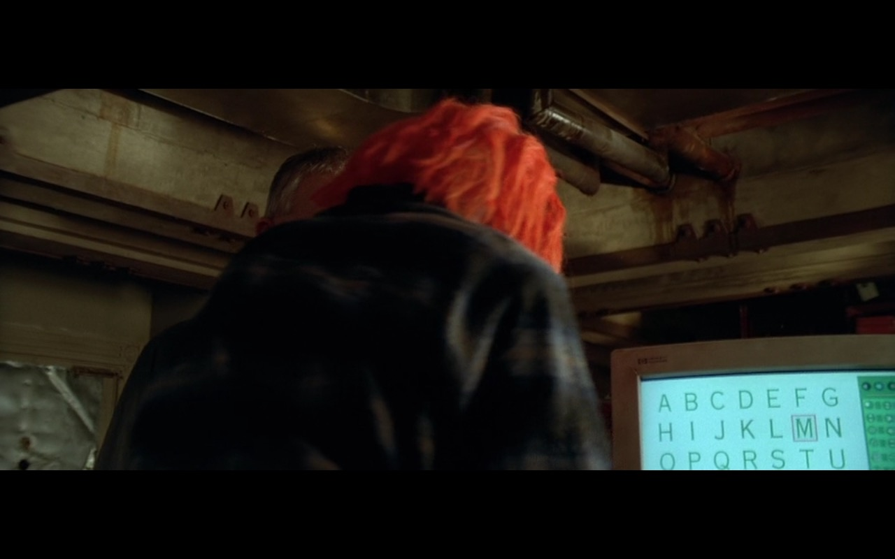 HP Monitor – The Fifth Element (1997) Movie Product Placement
