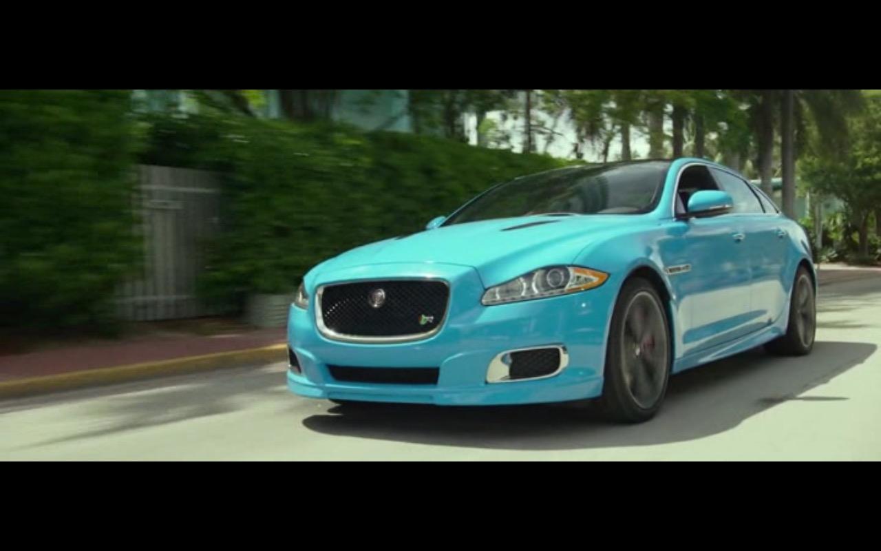 Jaguar XJR – Ride Along 2 (2016) - Movie Product Placement