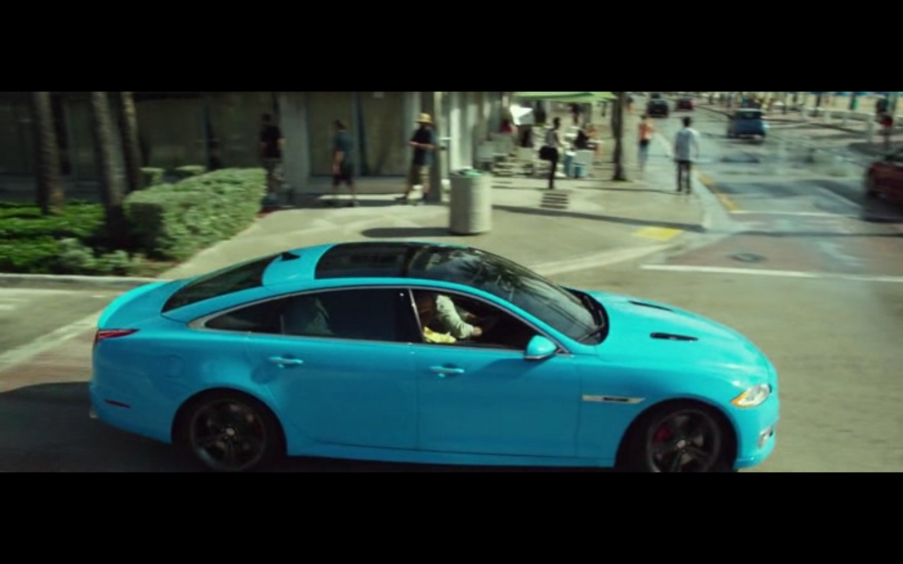Jaguar Xjr Ride Along 2 2016 Movie Scenes