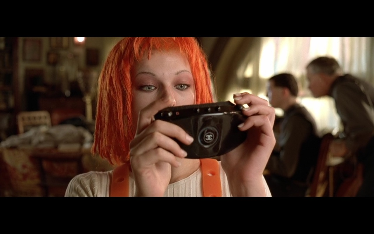 Chanel – The Fifth Element (1997) - Movie Product Placement