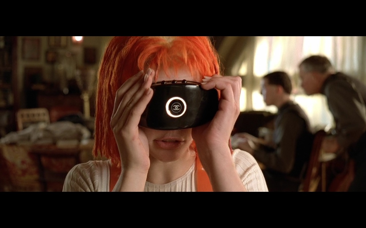 Chanel – The Fifth Element (1997) Movie Product Placement