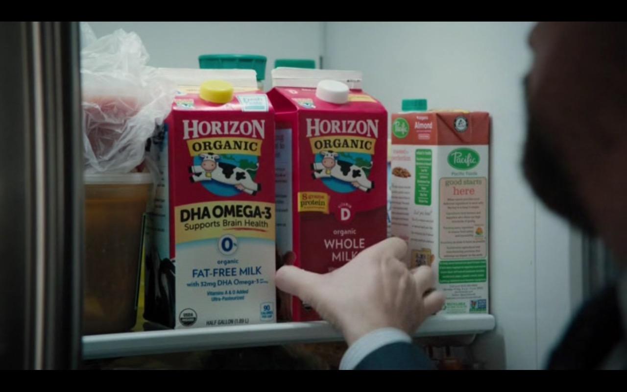 Horizon Organic Milk and Pacific Milk  – Billions - TV Show Product Placement