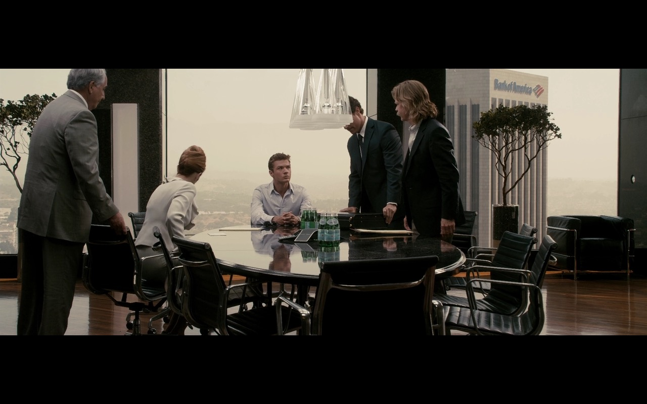 San Pellegrino and Bank of America - The Lincoln Lawyer (2011) Movie Product Placement
