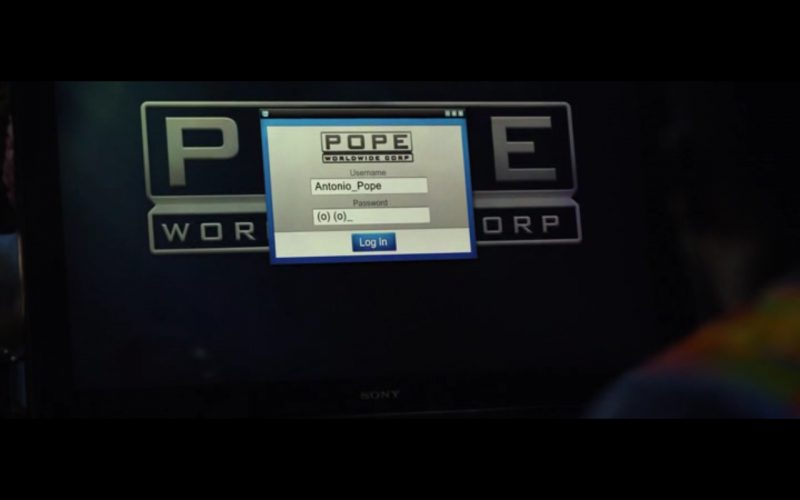 Sony Monitor – Ride Along 2 (2016) Movie Product Placement