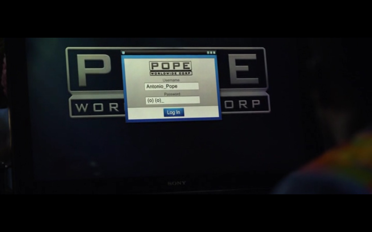 Sony Monitor – Ride Along 2 (2016) - Movie Product Placement