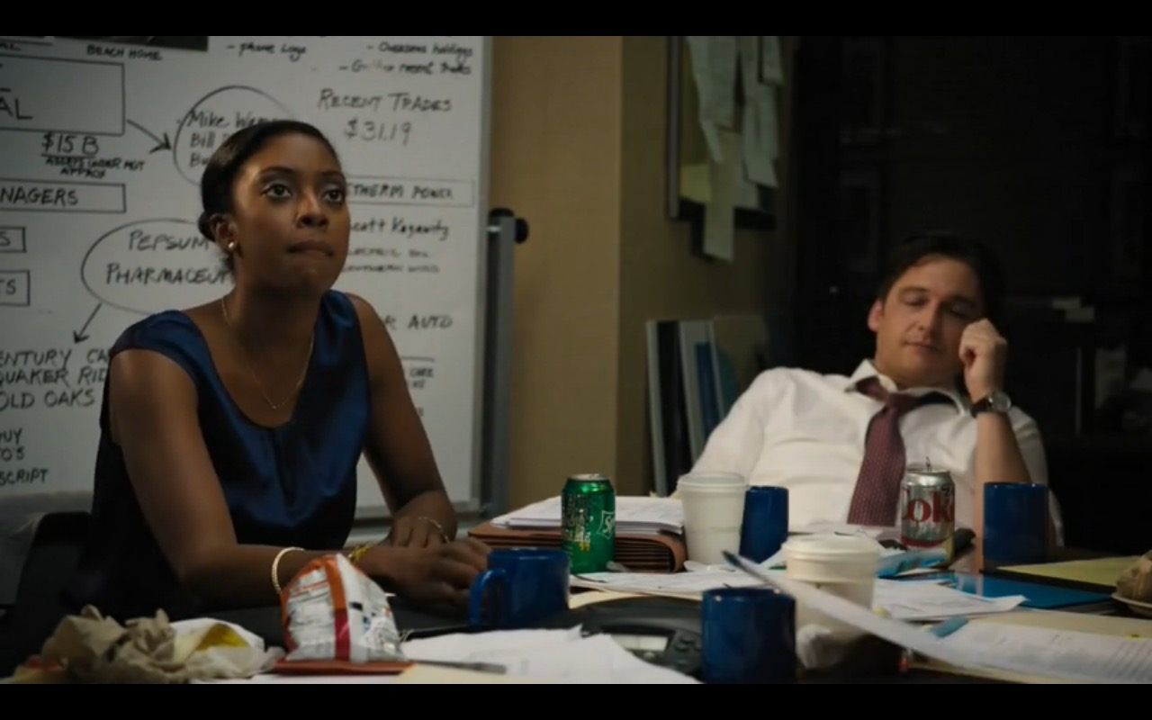 Sprite and Diet Coke – Billions TV Show Product Placement