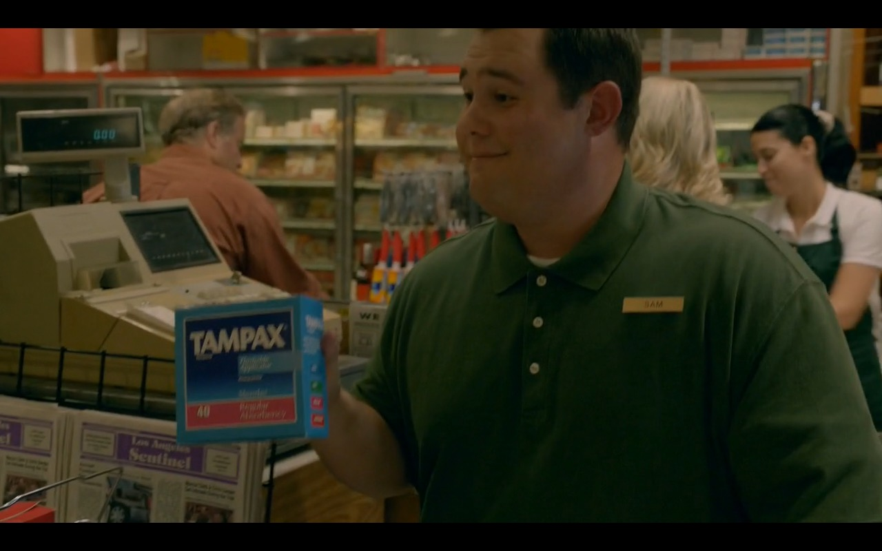 Tampax Tampons - American Crime Story - TV Show Product Placement