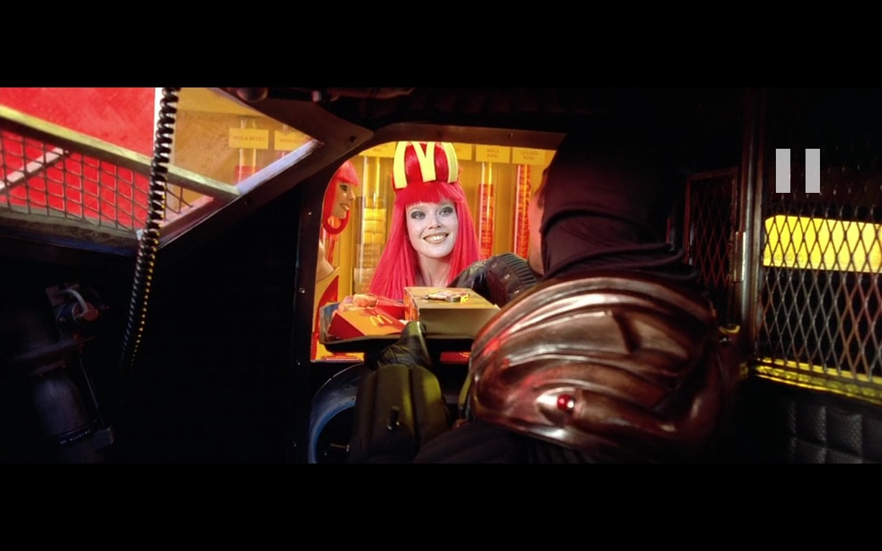 McDonald's Restaurant - The Fifth Element (1997) Movie Product Placement