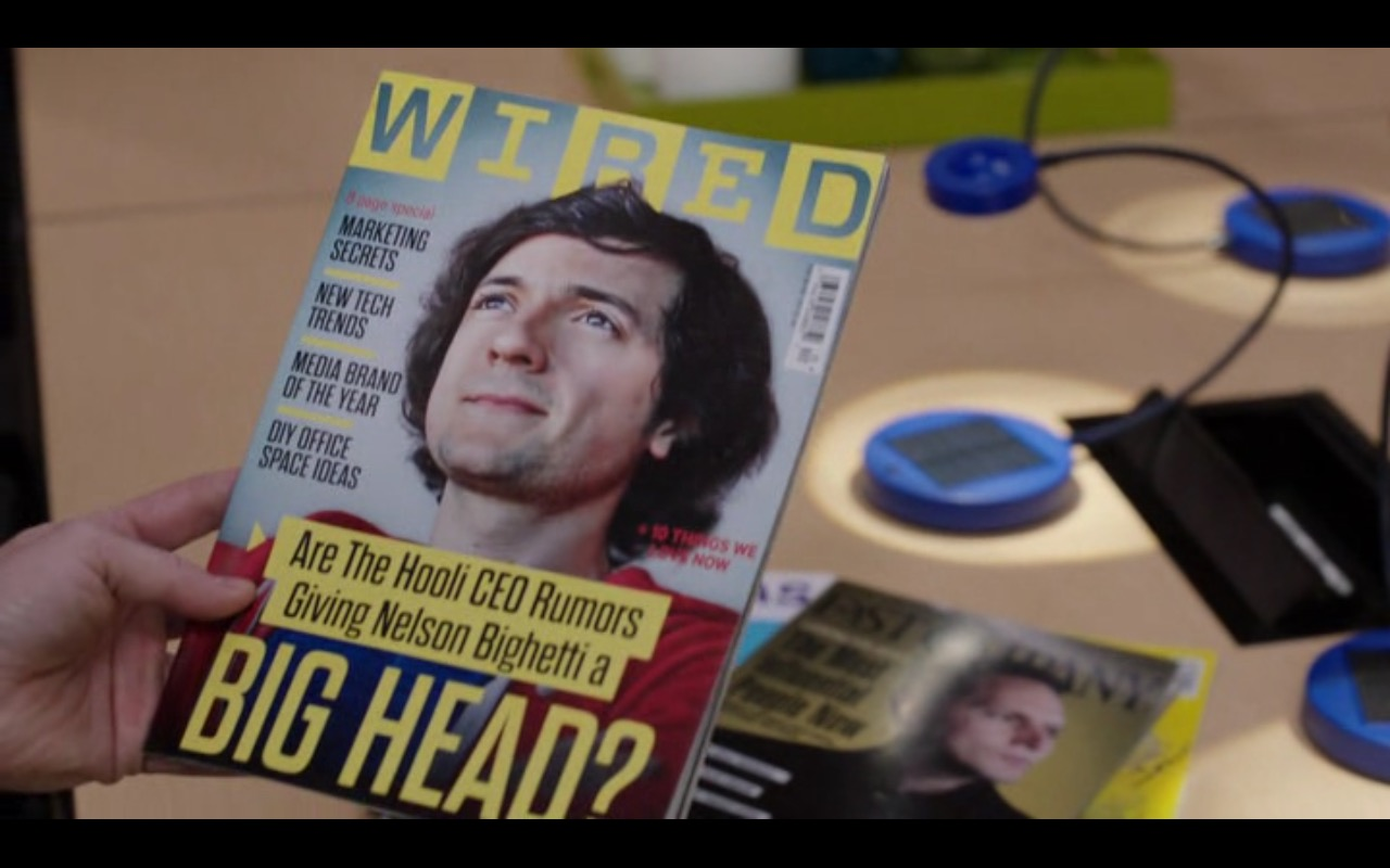 WIRED Magazine - Silicon Valley TV Show Product Placement
