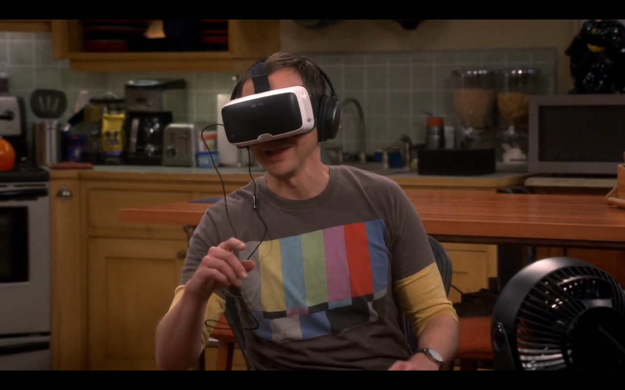 Zeiss Vr One >> ZEISS VR One (Virtual Reality) – The Big Bang Theory TV Show