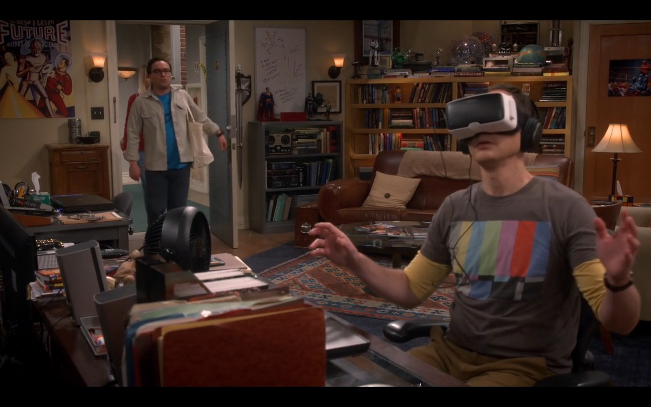 Zeiss Vr One Virtual Reality The Big Bang Theory Tv Show