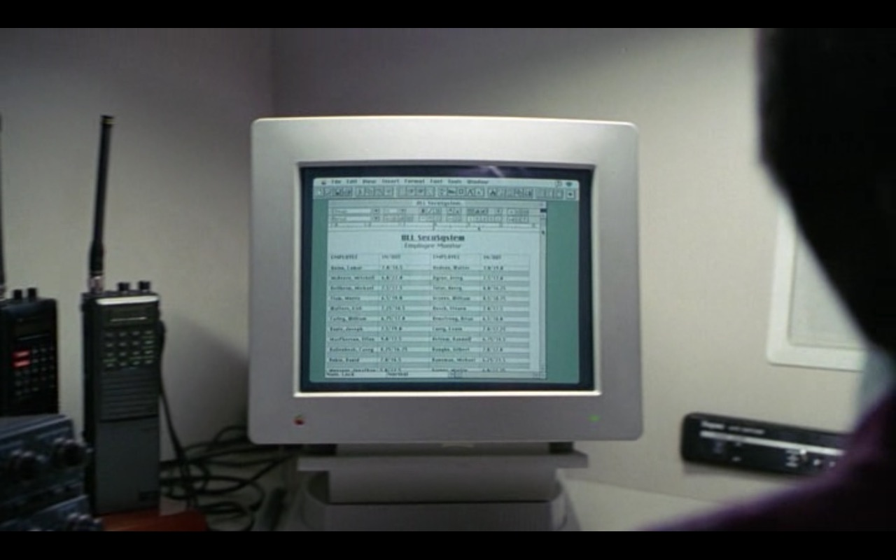 Apple Computer - The Firm (1993) Movie Product Placement