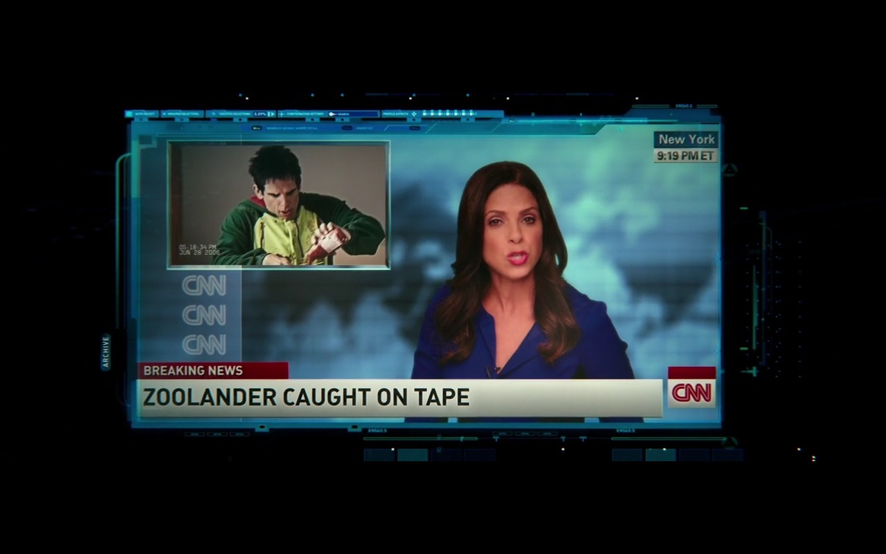 CNN - Zoolander 2 (2016) - Movie Product Placement