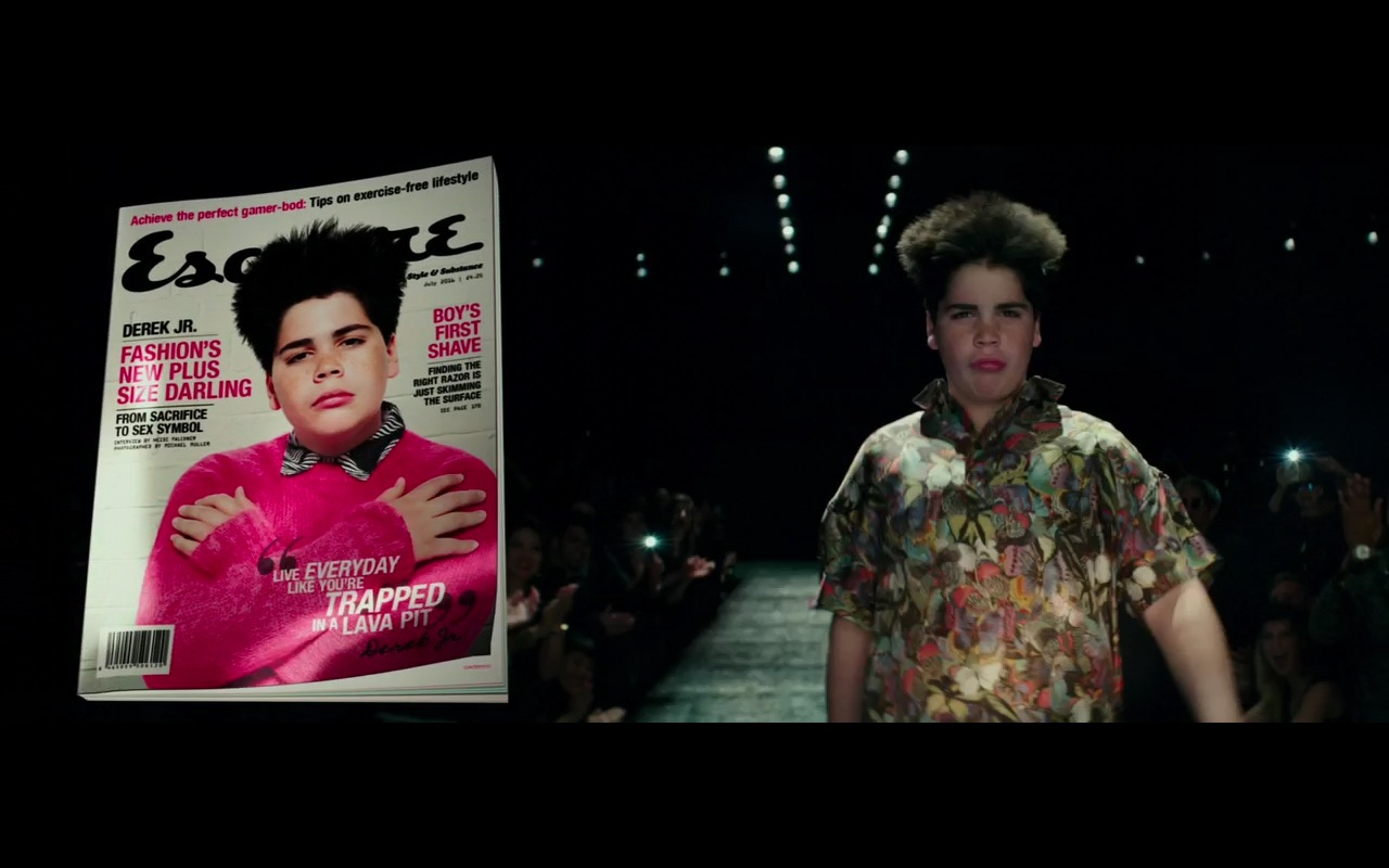 Esquire - Zoolander 2 (2016) Movie Product Placement