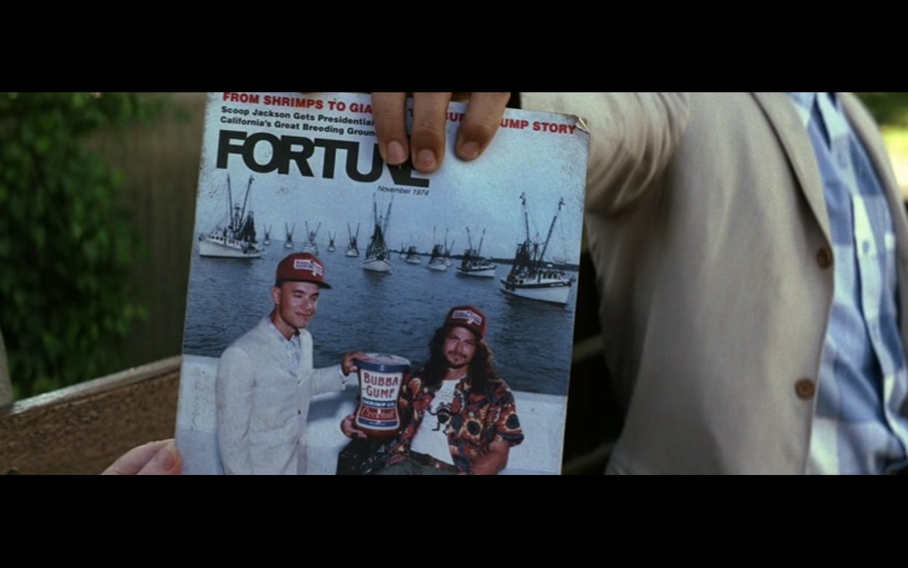 Fortune (magazine) – Forrest Gump (1994) - Movie Product Placement