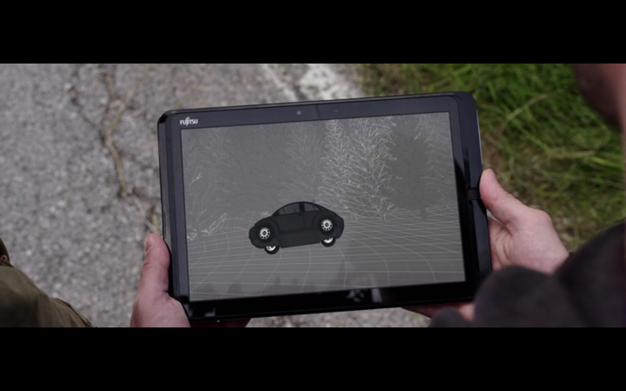 Fujitsu Tablet – The Correspondence (2016) - Movie Product Placement