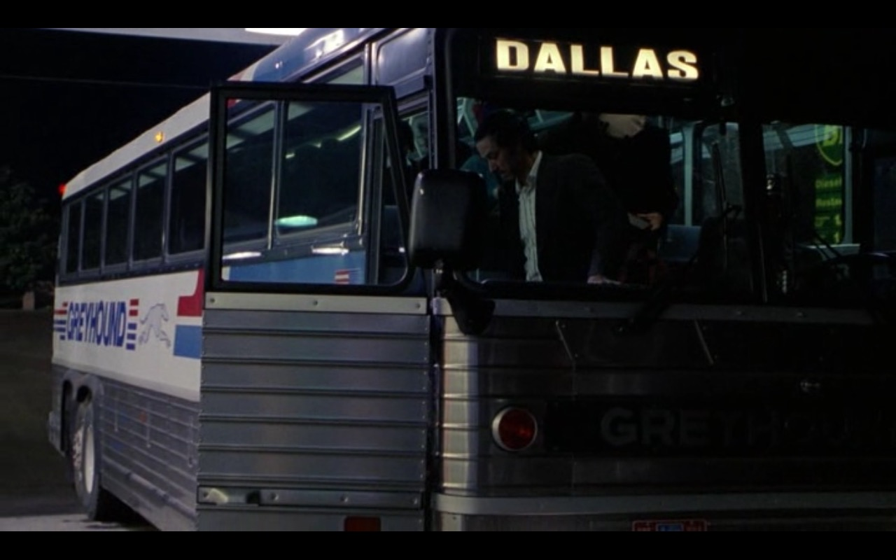 Greyhound Lines - The Firm (1993) Movie Product Placement