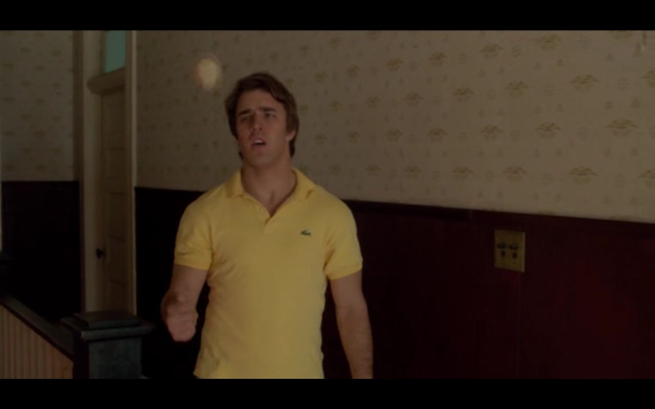 Lacoste Polo Shirt – Everybody Wants Some!! (2016) - Movie Product Placement