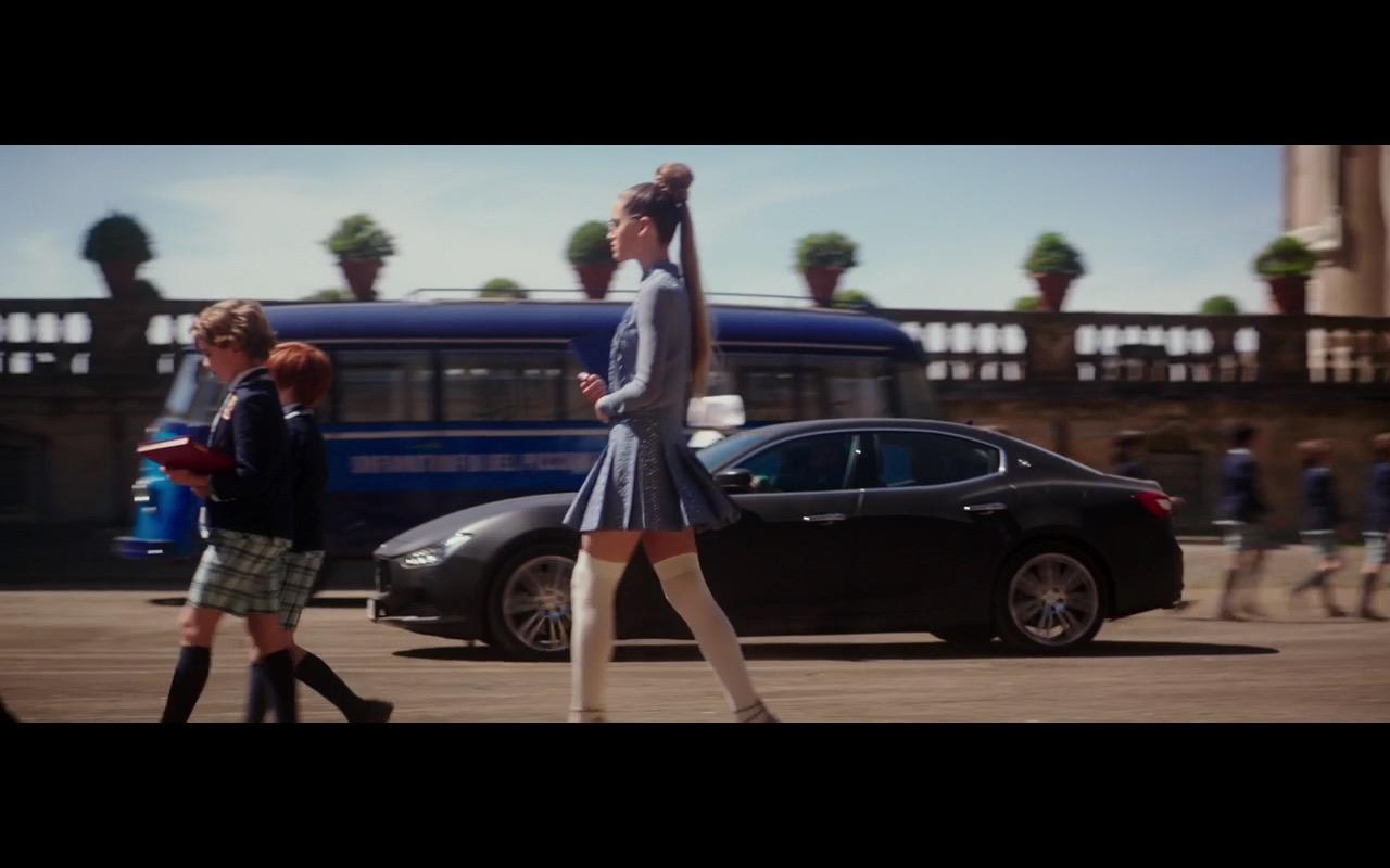 Maserati Ghibli - Zoolander 2 (2016) - Movie Product Placement