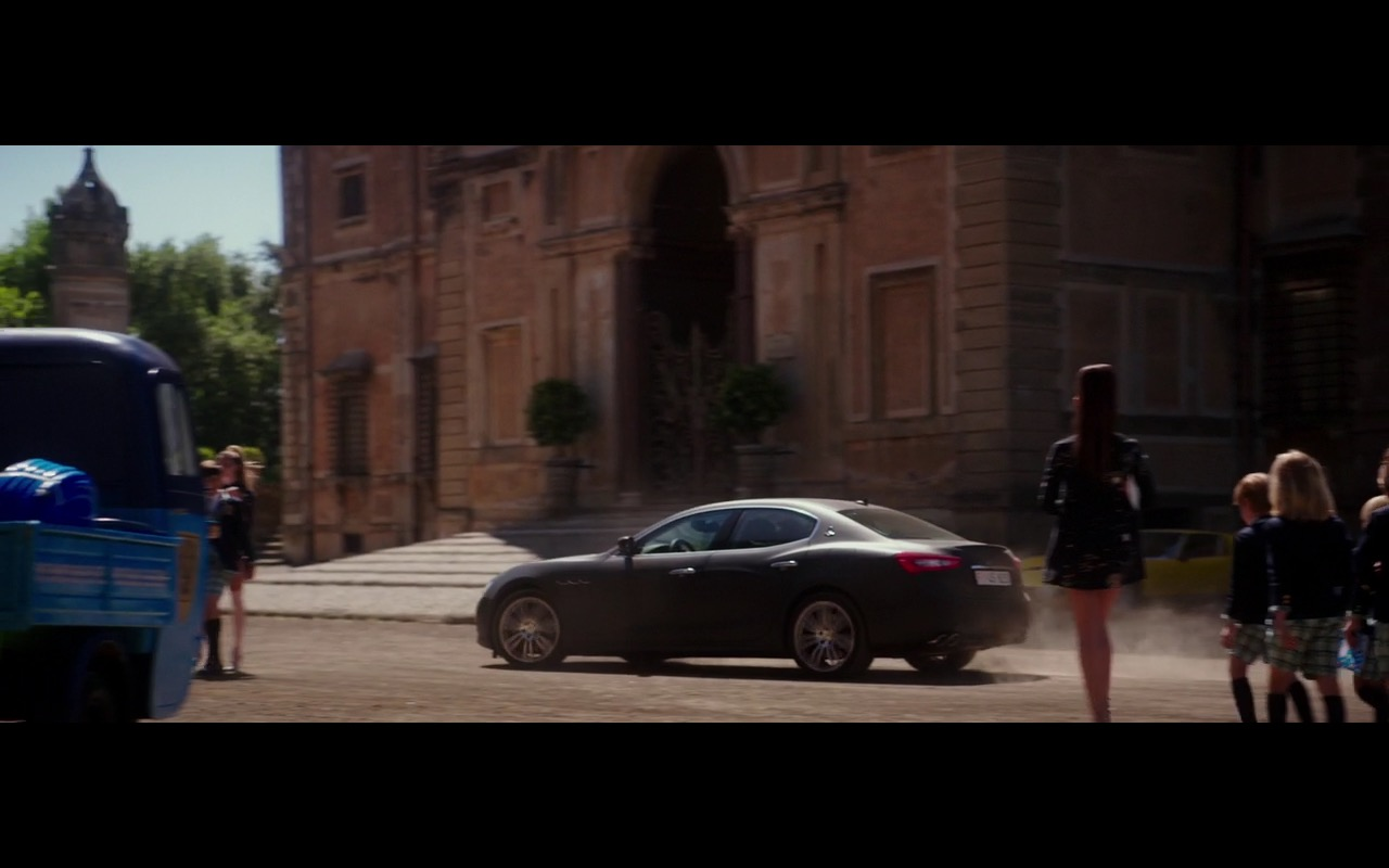 Maserati Ghibli - Zoolander 2 (2016) - Movie Product Placement