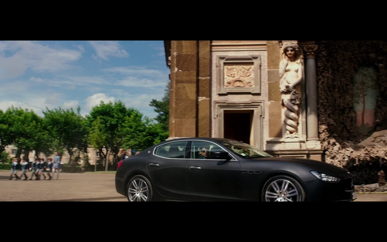 Maserati Ghibli - Zoolander 2 (2016) Movie Product Placement