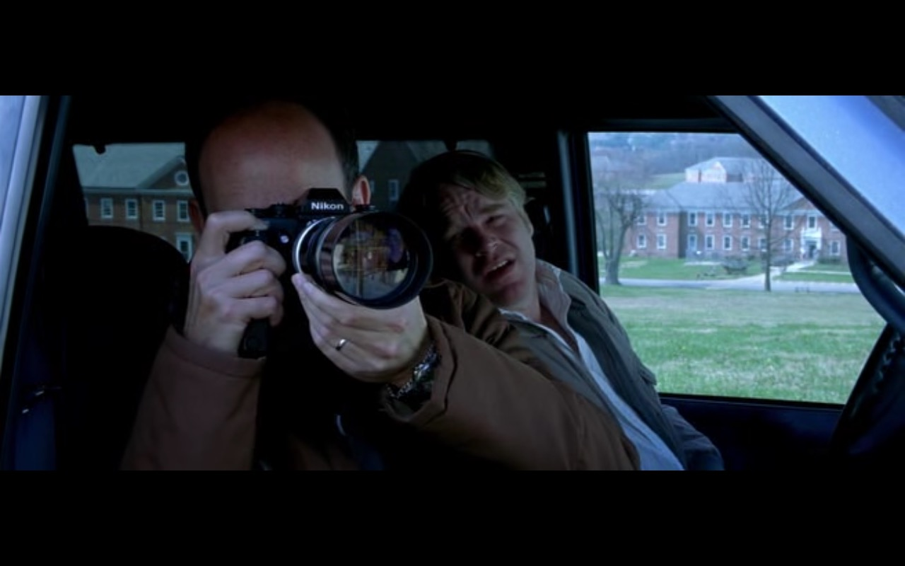 Nikon Photo Camera - Red Dragon (2002) Movie Product Placement