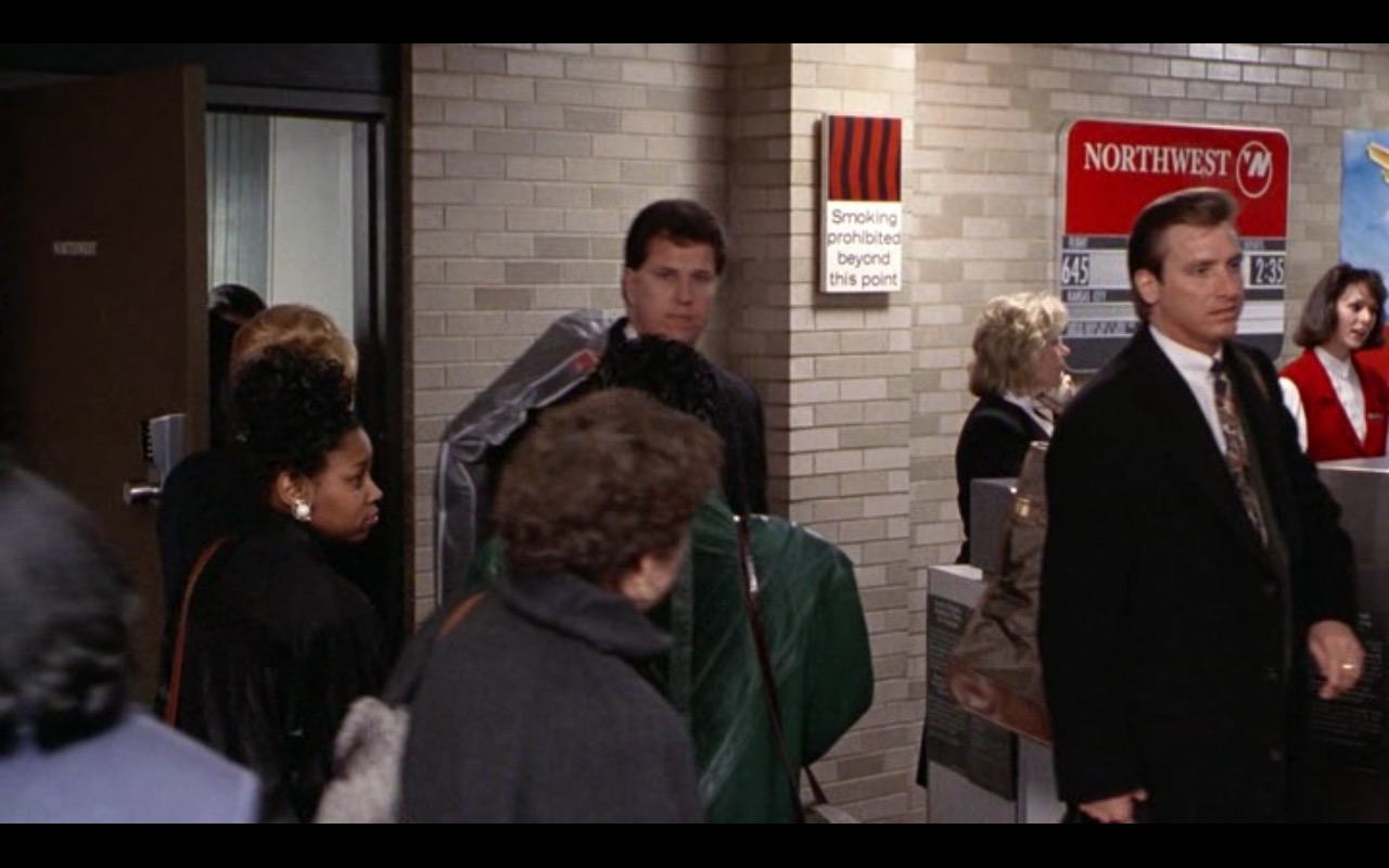 Northwest Airlines – The Firm (1993) Movie Product Placement