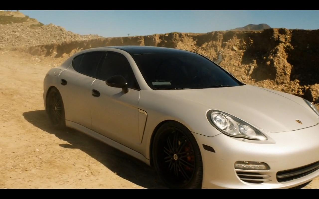 Porsche Panamera Fear The Walking Dead Tv Show