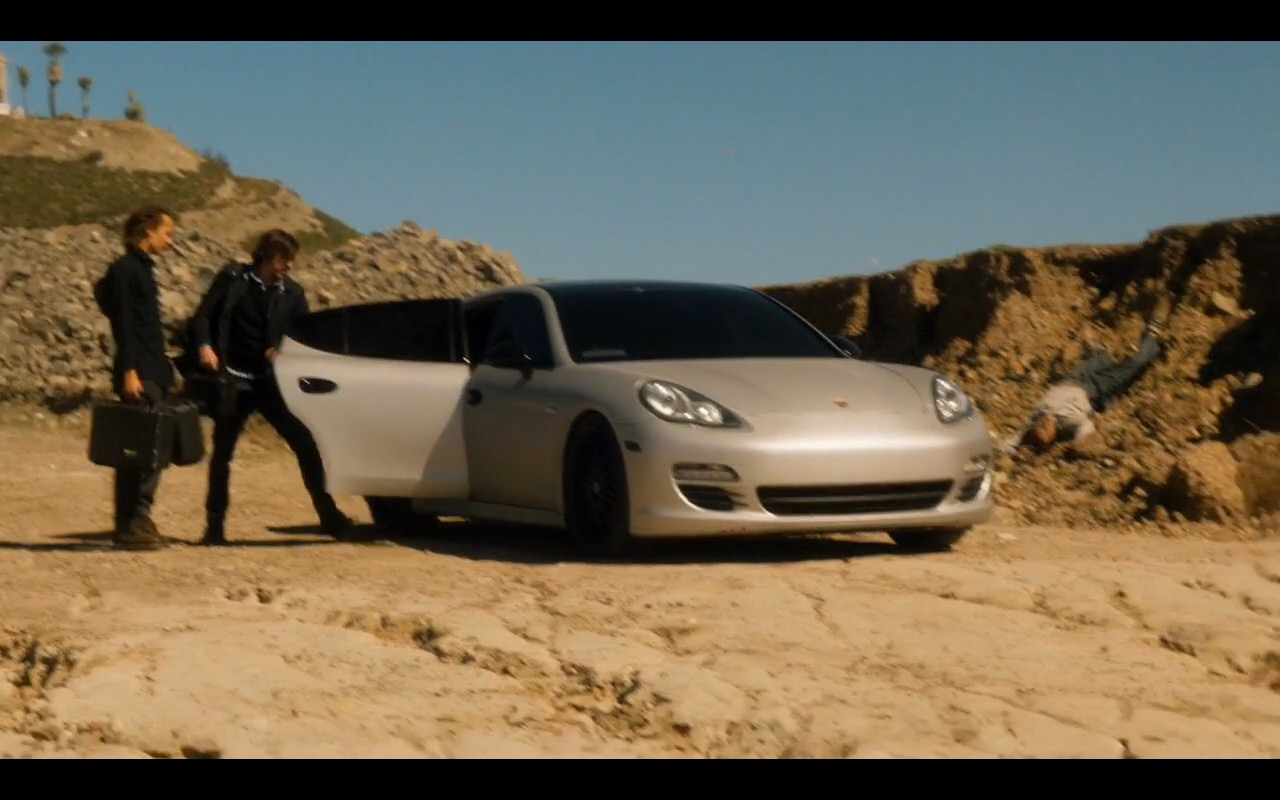 Porsche Panamera Fear The Walking Dead Tv Show