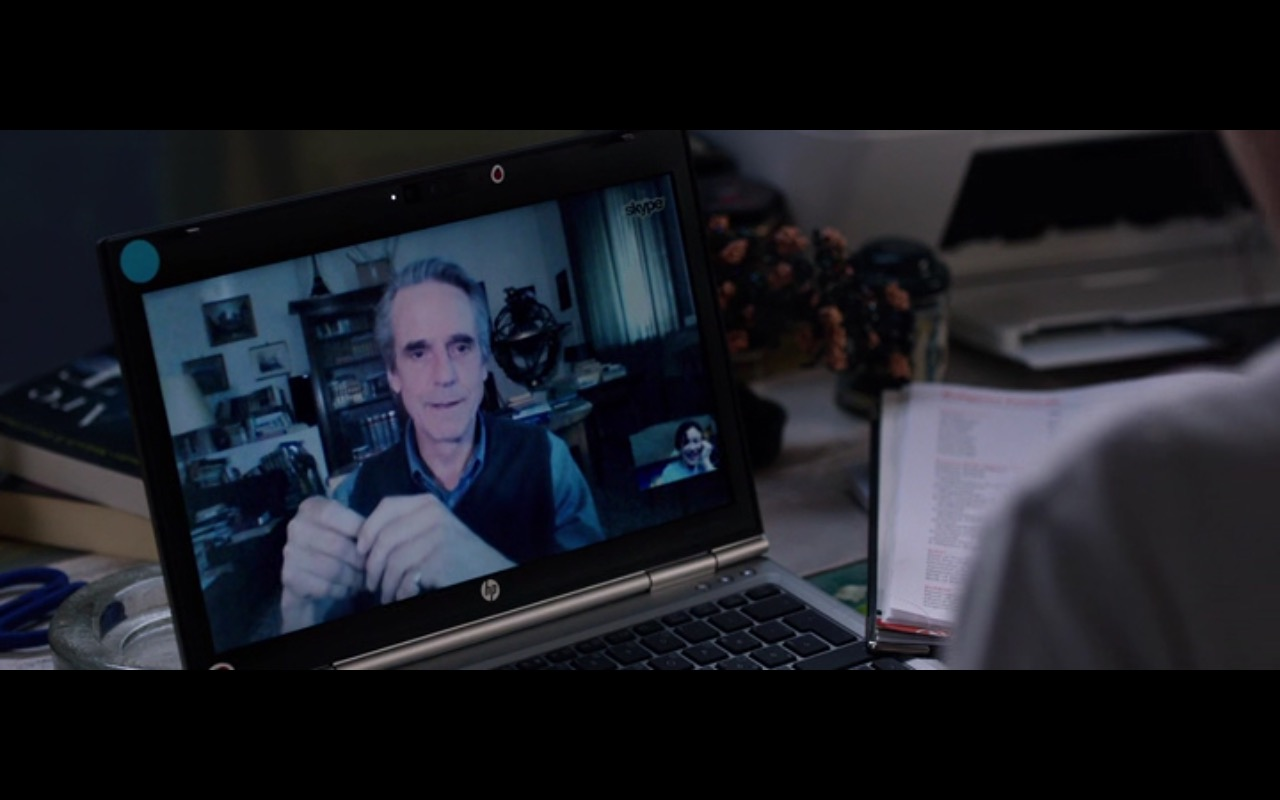 Skype And HP Notebook – The Correspondence (2016) Movie Product Placement