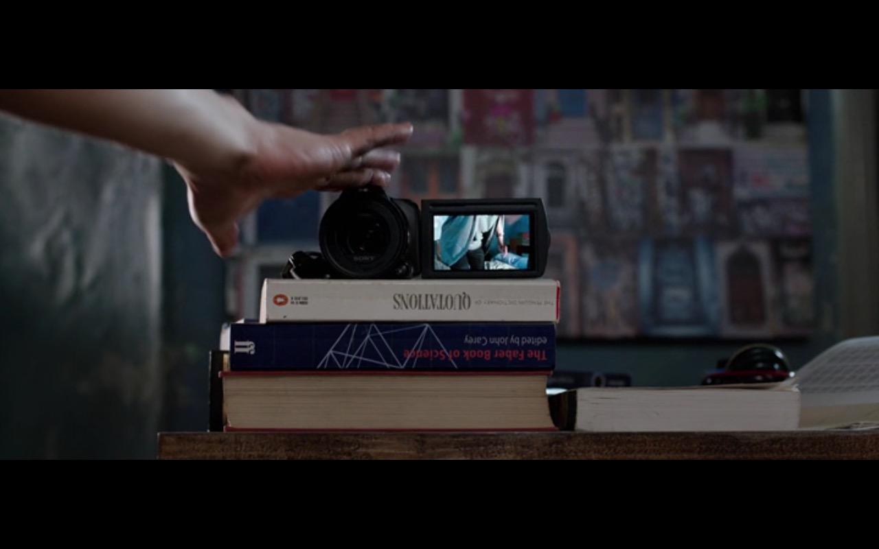 Sony Camcorder - The Correspondence 2016 (3)