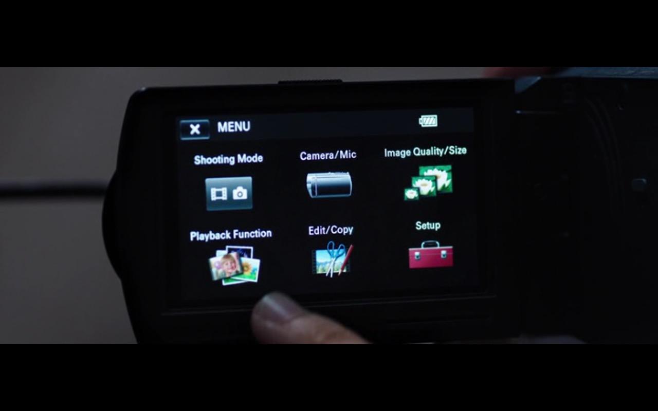 Sony Camcorder - The Correspondence 2016 (4)