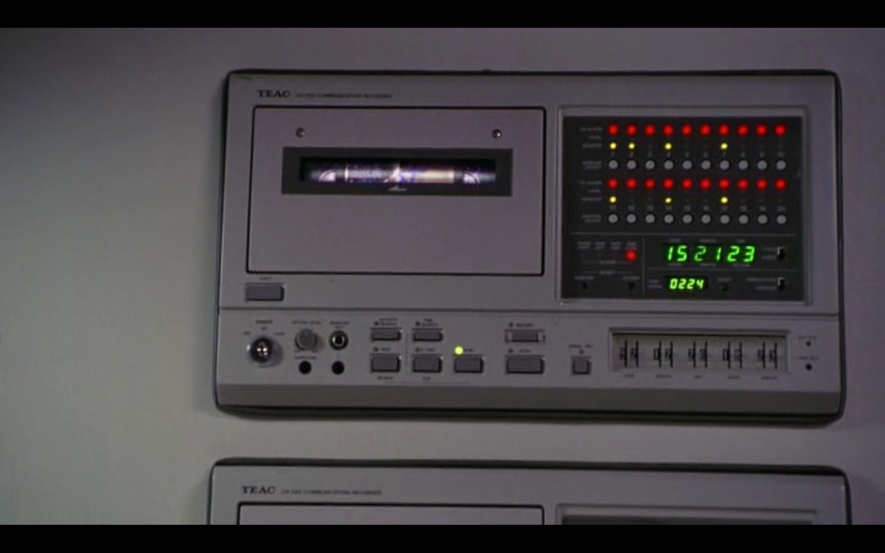 TEAC – The Firm (1993) - Movie Product Placement