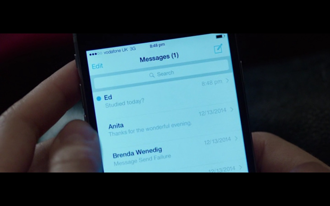 Vodafone UK – The Correspondence (2016) - Movie Product Placement