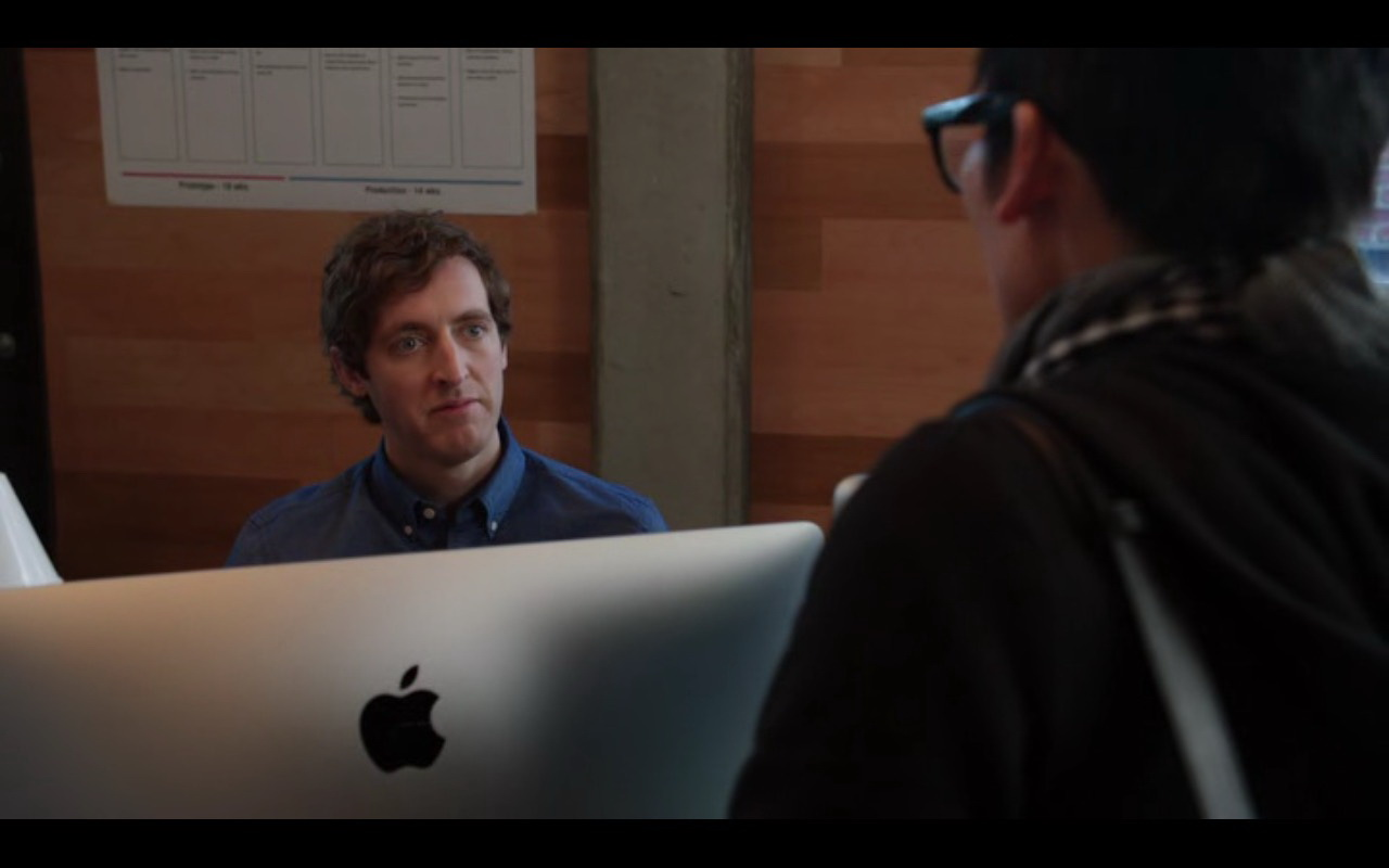 Apple iMac Computer – Silicon Valley TV Show Product Placement