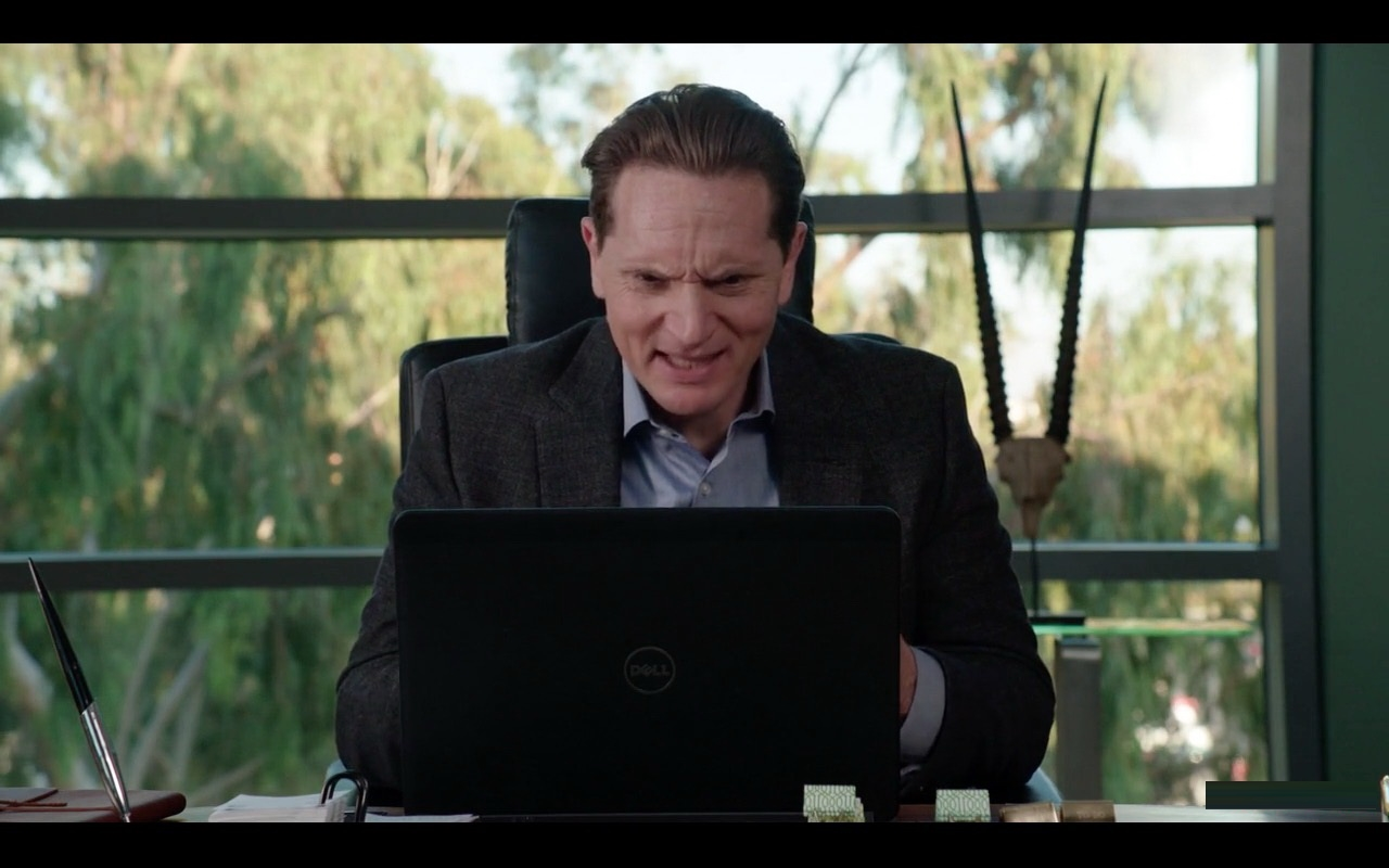 Black Dell Laptop – Silicon Valley TV Show Product Placement