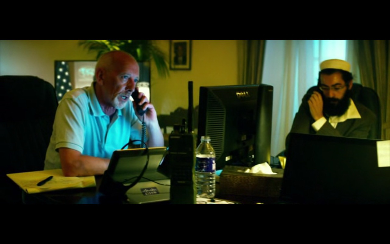 Dell Monitor And Cisco Video Phone – 13 Hours: The Secret Soldiers of Benghazi (2016) Movie Product Placement