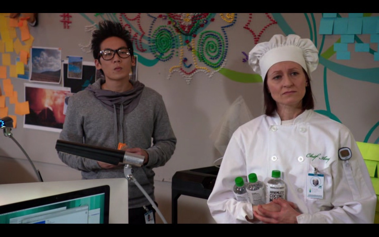 Harmless Harvest Coconut Water Bottles - Silicon Valley - TV Show Product Placement