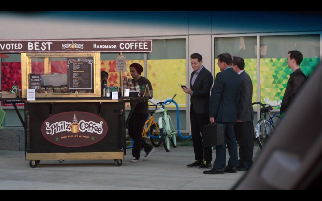 Philz Coffee Shop – Silicon Valley - TV Show Product Placement