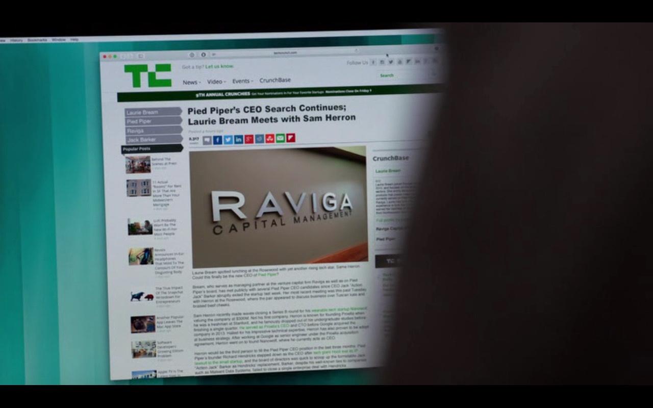 TechCrunch – Silicon Valley TV Show