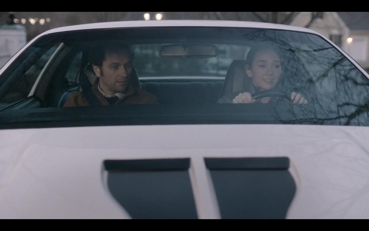 Chevrolet Camaro Z28 White Car In The Americans Tv Show