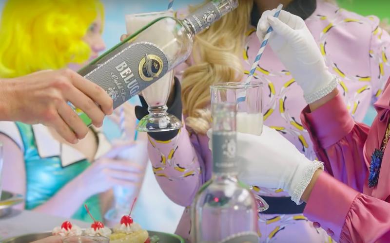 Beluga Vodka – Fergie – «M.I.L.F. $» (1)