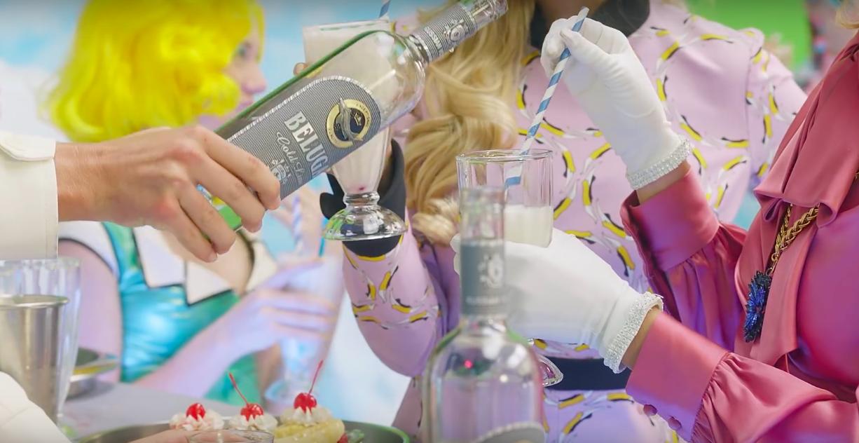 Beluga Vodka - Fergie - «M.I.L.F. $» (1)