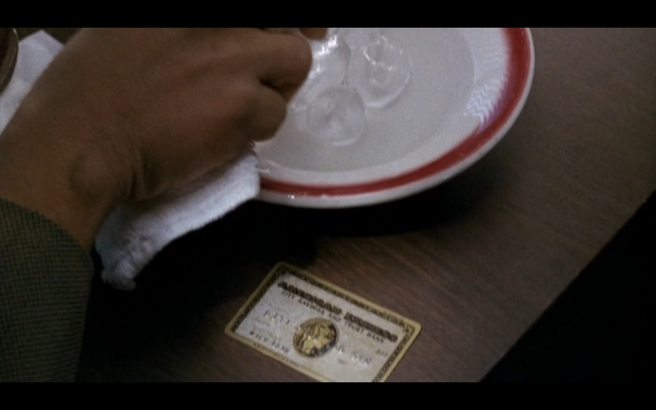 American Express – Nothing to Lose (1997) Movie Product Placement