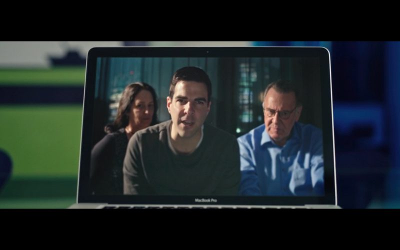 Apple MacBook Pro - Snowden (2016) Movie Product Placement