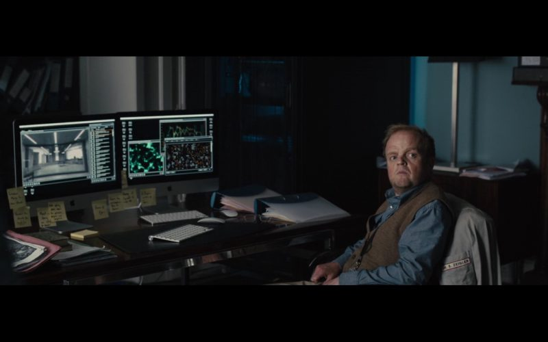 Apple iMac - Morgan (2016) Movie Product Placement