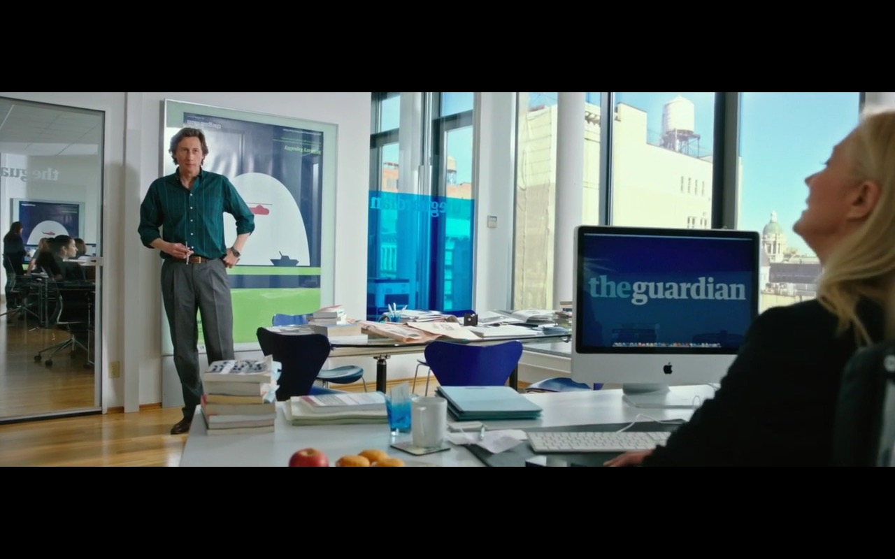 Apple iMac - Snowden (2016) Movie Product Placement