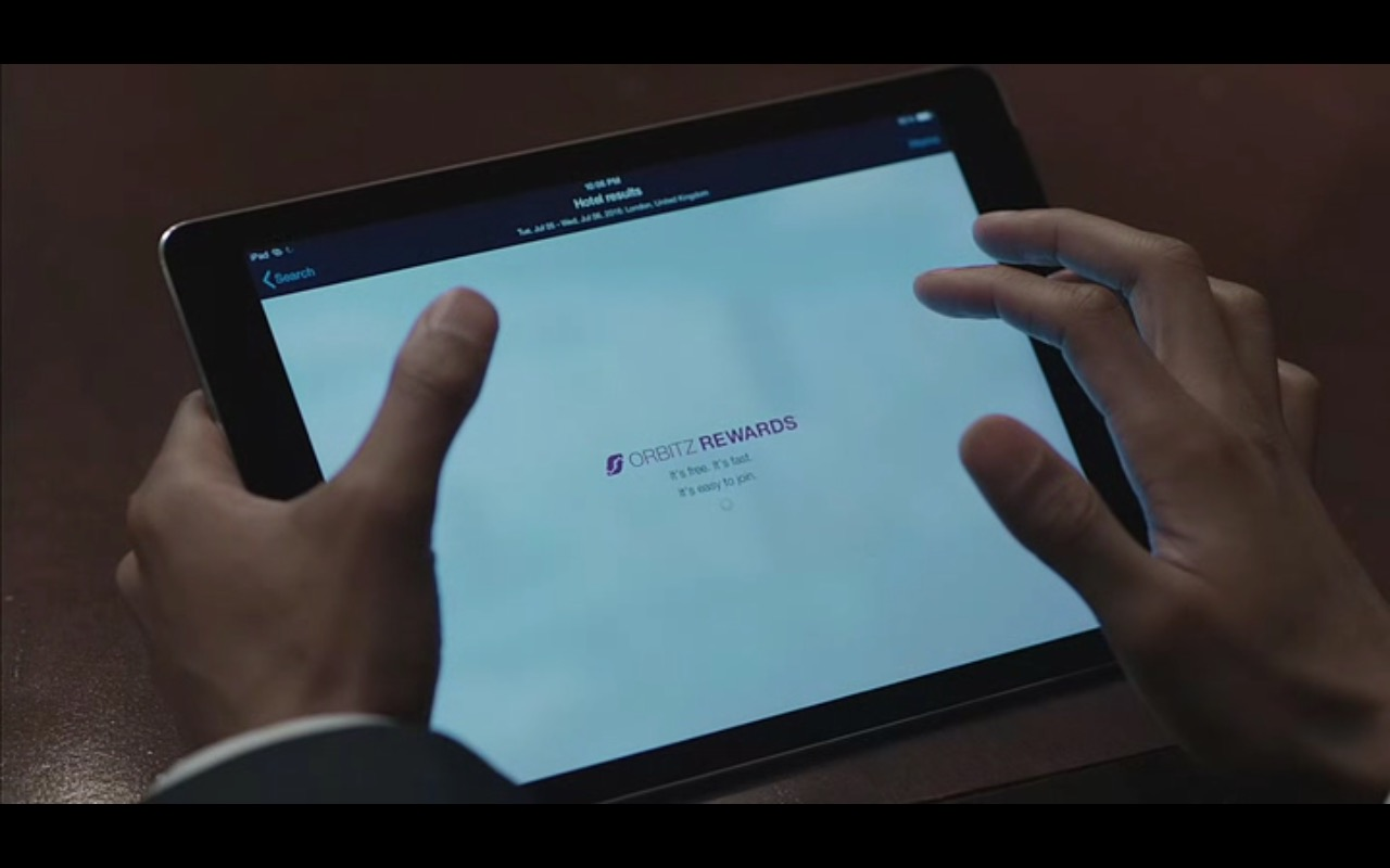 Apple iPad And Orbitz – Equity (2016) Movie Product Placement