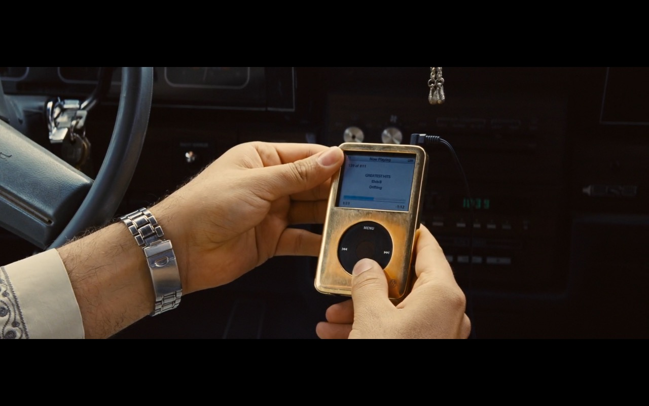 Apple iPod – A Hologram for the King (2016) Movie Product Placement