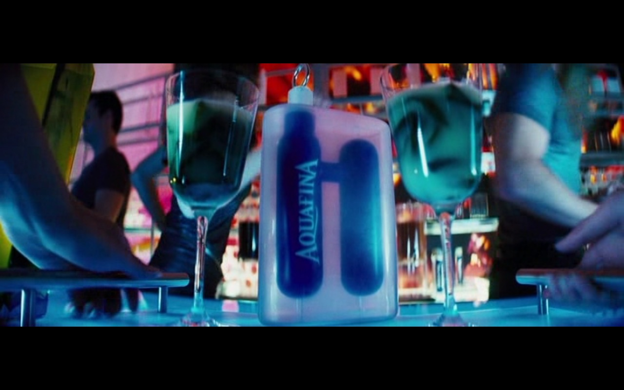 Aquafina – The Island (2005) Movie Product Placement
